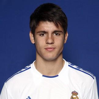 Alvaro Morata (Real Madrid Castilla)