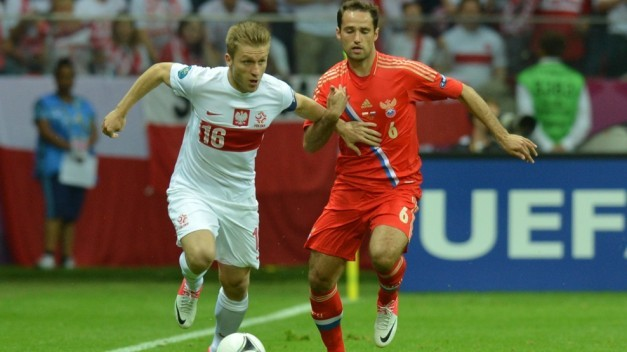 Błaszczykowski se intenta marchar de Shirokov