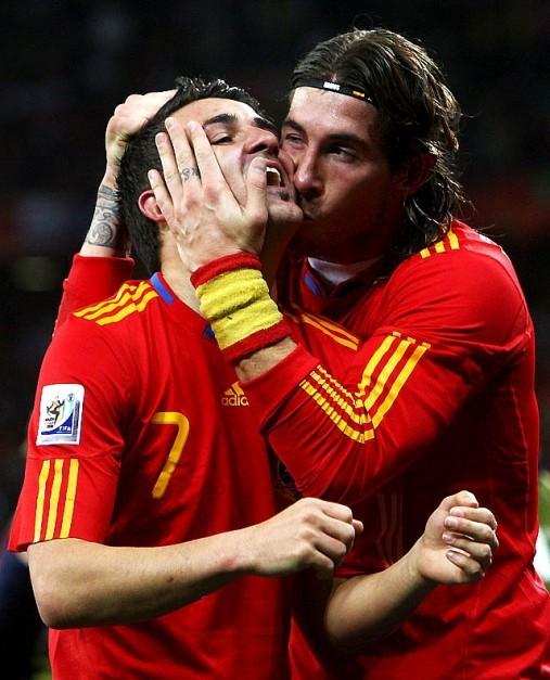 David Villa i Sergio Ramos