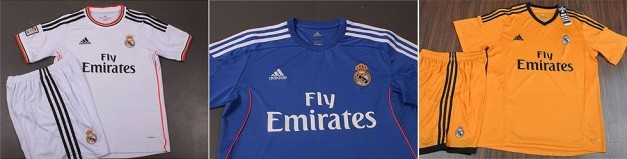 Camisetas R.Madrid 2013-2014