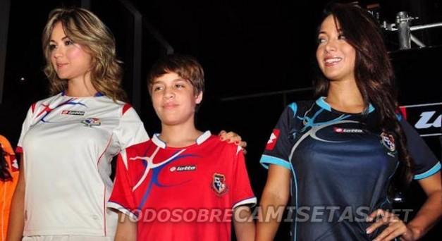 Camisetas de la Seleccion de Panama 2012/2014