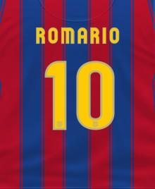 camiseta romario valencia