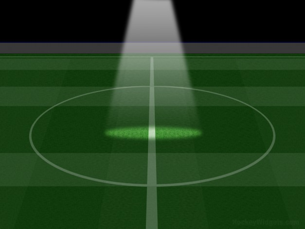 Campo de fútbol, dibujos animados