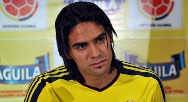 Falcao con la seleccion de Colombia
