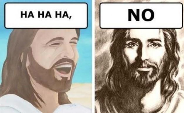 Foto - Hahaha, NO