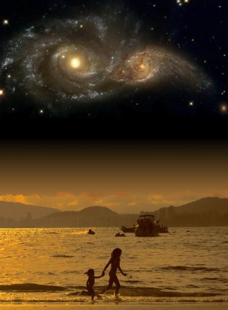 La Humanidad forma parte indisoluble, indistinguible del cosmos. Todo lo que somos surgió con el mismo universo y en el corazón de las estrellas. En palabras de Sagan, somos polvo de estrellas.