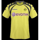 Primera equipación del B. Dortmund