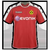 Tercera equipación del B. Dortmund