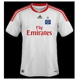 Primera equipación del Hamburger SV