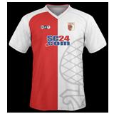 Primera equipación del FC Augsburg