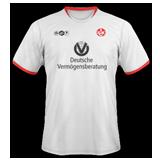 Segunda equipación del Kaiserslautern