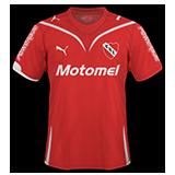 Primera equipación del Independiente