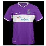 Primera equipación del Austria Wien