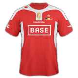 Primera equipación del Standard de Liège