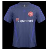 Segunda equipación del Aalborg BK