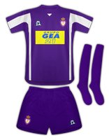 Segunda equipación del Real Jaén