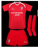 Segunda equipación del San Fernando C.F.