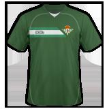 Segunda equipación del Real Betis