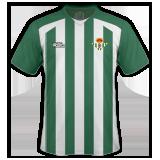 Primera equipación del Real Betis