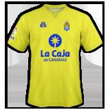 Primera equipación del Las Palmas