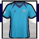 Segunda equipación del Almería