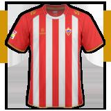 Primera equipación del Almería