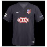 Segunda equipación del Atlético