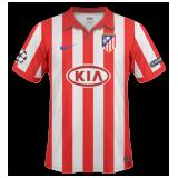 Primera equipación del Atlético