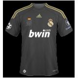 Tercera equipación del Real Madrid B