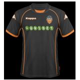 Segunda equipación del Valencia
