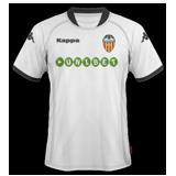 Primera equipación del Valencia