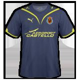 Segunda equipación del Villarreal