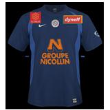 Primera equipación del Montpellier