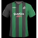 Tercera equipación del Swansea City