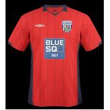 Segunda equipación del West Bromwich Albion