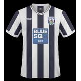 Primera equipación del West Bromwich Albion