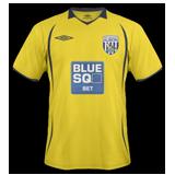 Tercera equipación del West Bromwich Albion