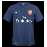 Segunda equipación del Arsenal