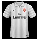Tercera equipación del Arsenal