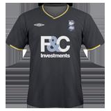 Segunda equipación del Birmingham City