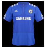 Primera equipación del Chelsea