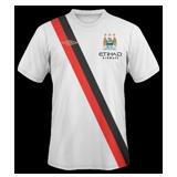 Segunda equipación del Man. City