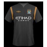 Tercera equipación del Man. City