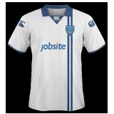 Segunda equipación del Portsmouth