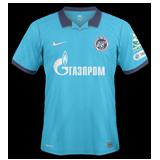 Primera equipación del Zenit