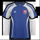 Primera equipación del Eslovaquia