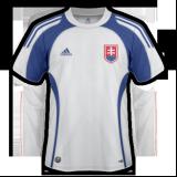 Segunda equipación del Eslovaquia