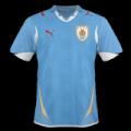 Equipación del Uruguay