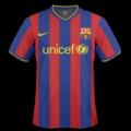 Equipación del Barcelona