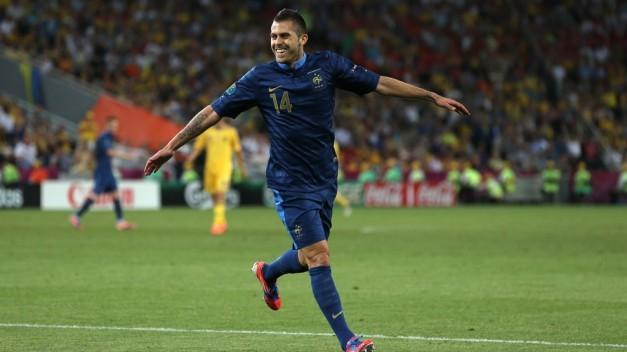 Jérémy Ménez celebrando el primer gol